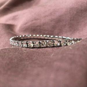 Swarovski Crystal Tennis Bracelet